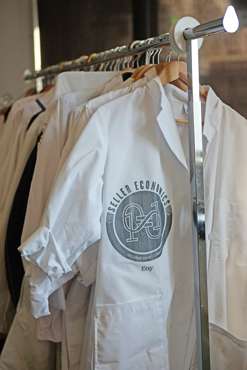 Etsy Lab coats.