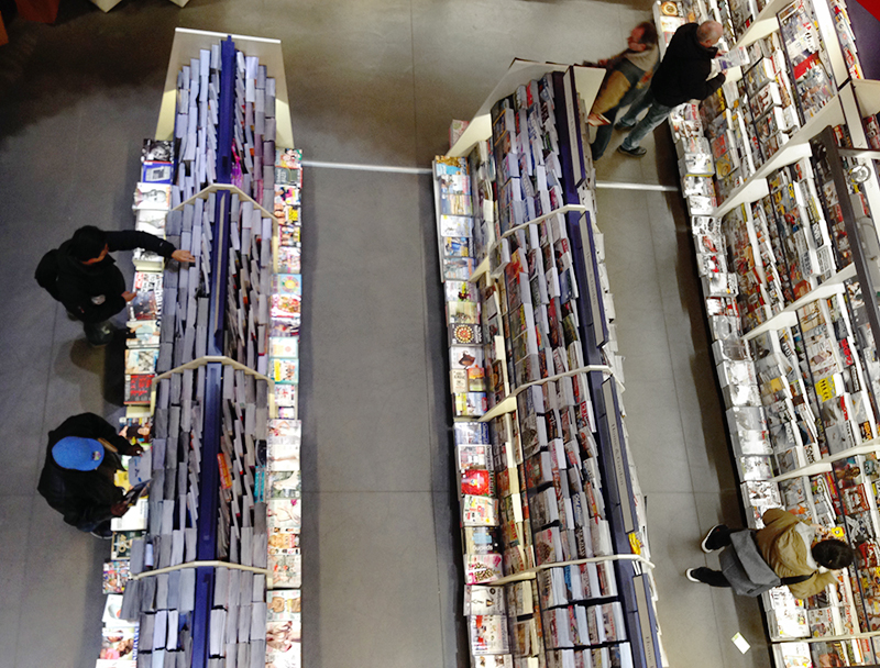 View of the Toronto Chapters' magazine area.