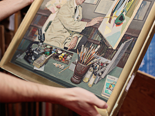 Janine visited the Society of Illustrators in New York.