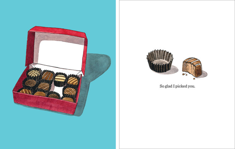 Kristin's cards, including this Valentine's Day card, are available in her  Etsy shop .