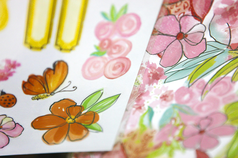 It's interesting to see surface pattern designs in the scrapbooking industry and see how those trends relate to quilt fabrics (a hobby that I'm more familiar with.)