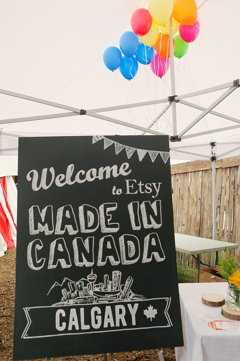 The Etsy Made in Canada event was held at  Symons Valley Ranch , at the city's northern outskirts.