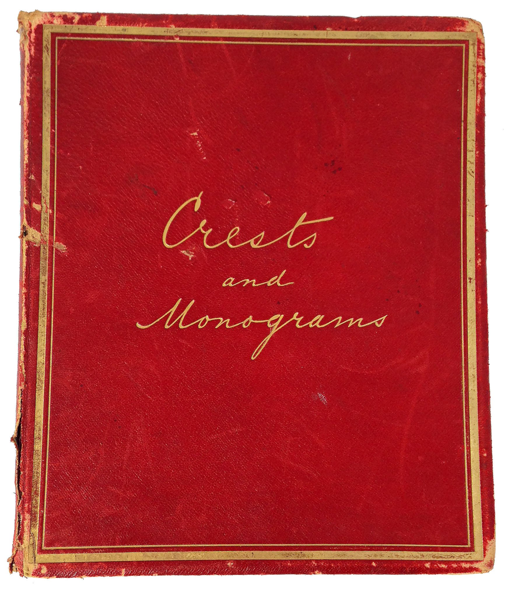 Enjoy these high quality featured ephemera: a Crests and Monograms Collectors' Book