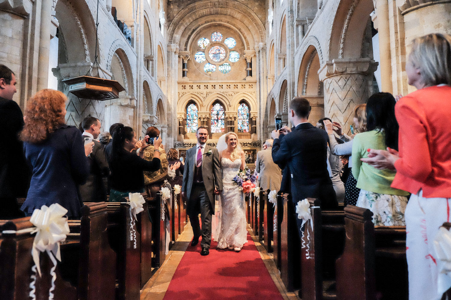 bride-groom-just-married-waltham-abbey