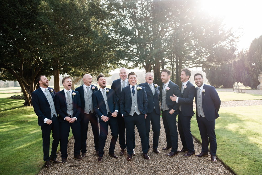 The lads/fellas/geeeeezers at Gosfield Hall.