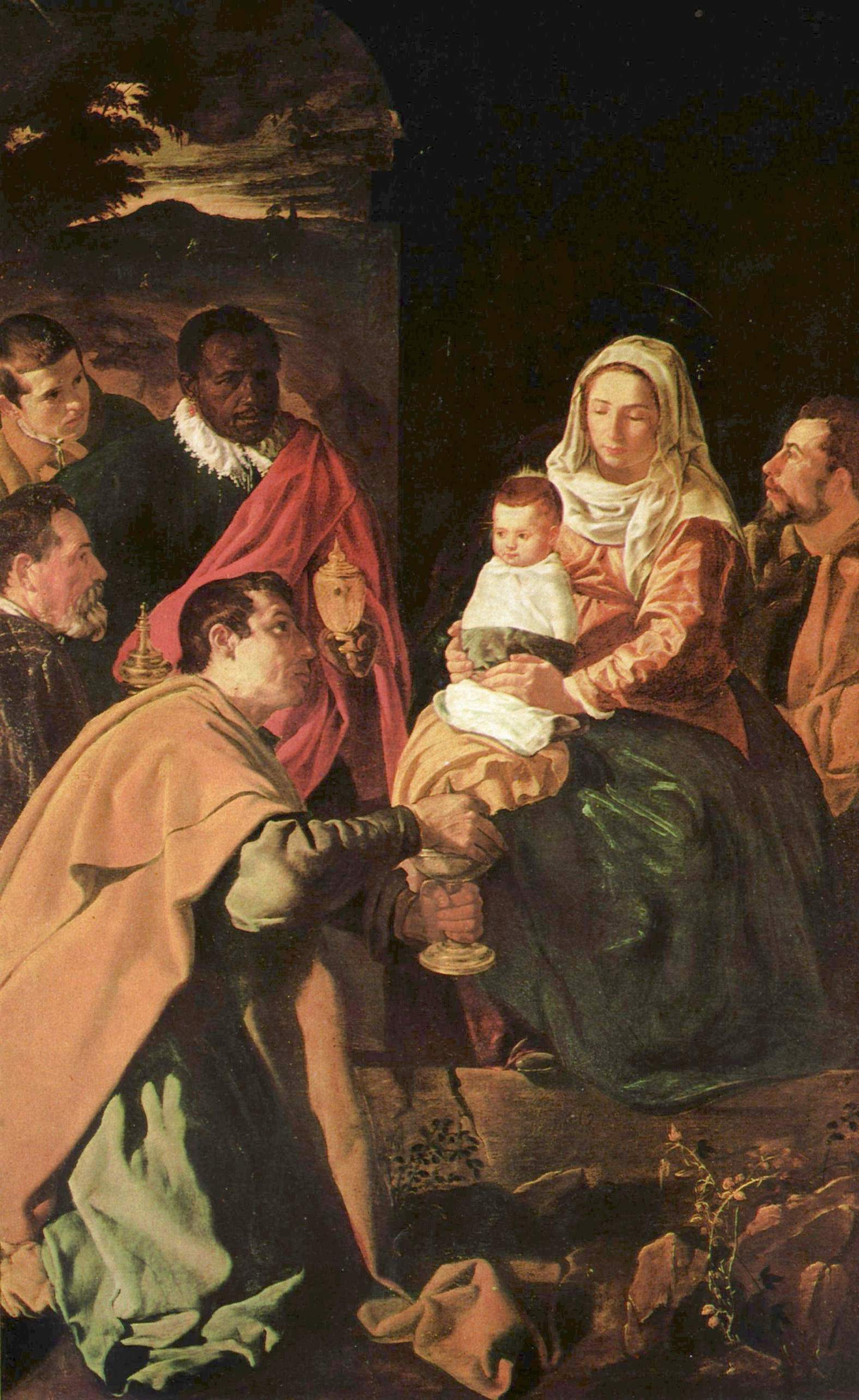 The Adoration of the Magi , by Velazquez