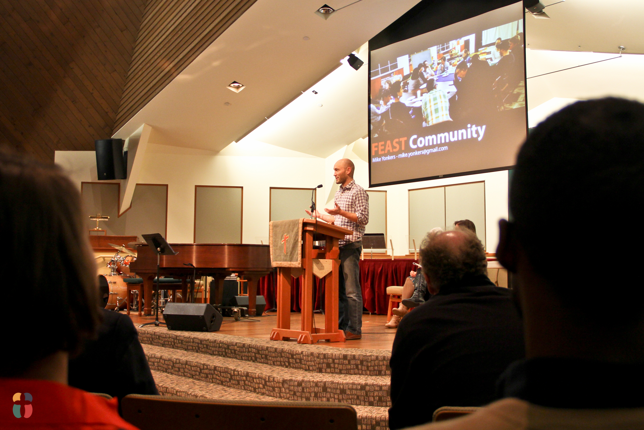 Mike Yonkers at the November, 2014 Meeting of the Seattle Presbytery.