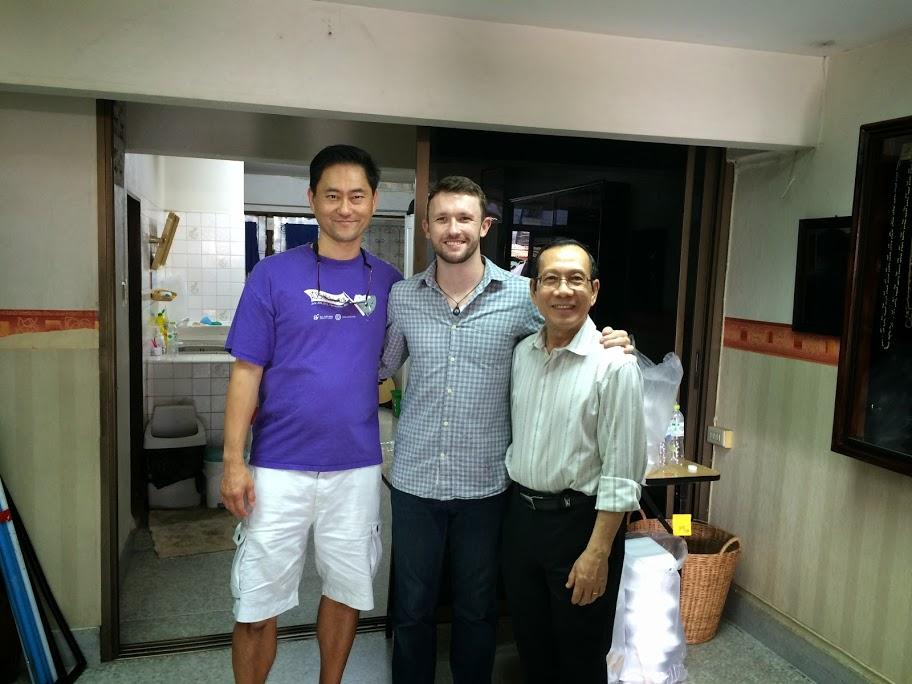 Ken & Binh Nguyen with Derek of Urban Neighbors of Hope, Bangkok