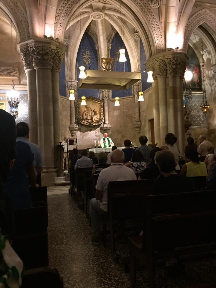 Mass Sagrada Familia Cathedral