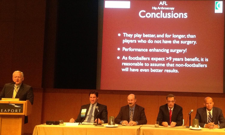 Congresso Internacional de Artroscopia de Quadril - ISHA 2012 - Boston | David Gusmão | Cirurgia de Quadril e Videoartroscopia