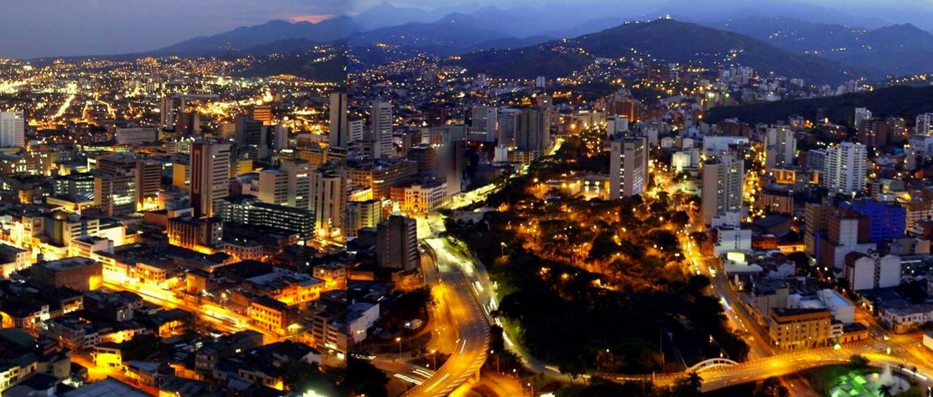 Cali a noite Colombia