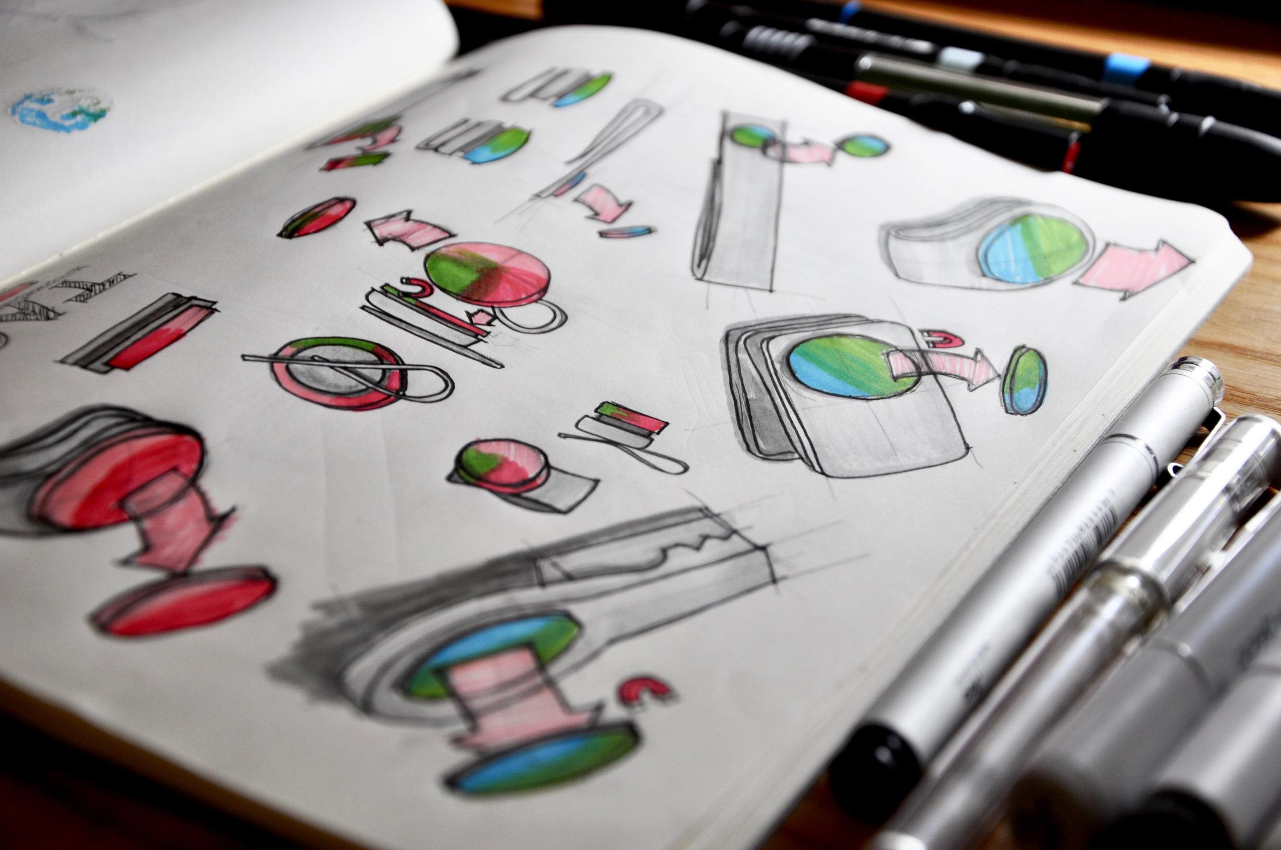 Sketches by Mary Tsai