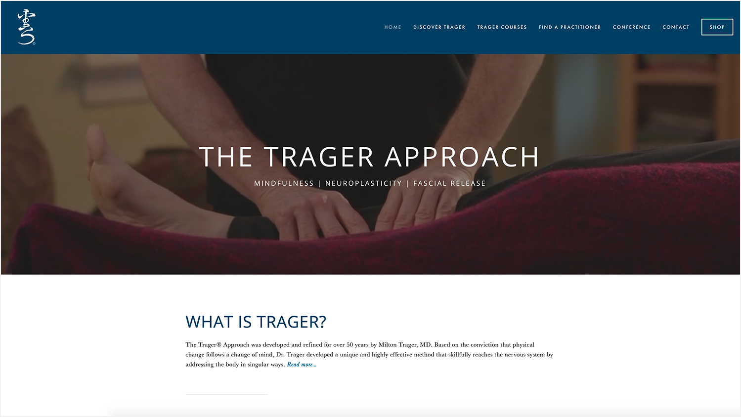 VISIT:  TRAGERAPPROACH.US