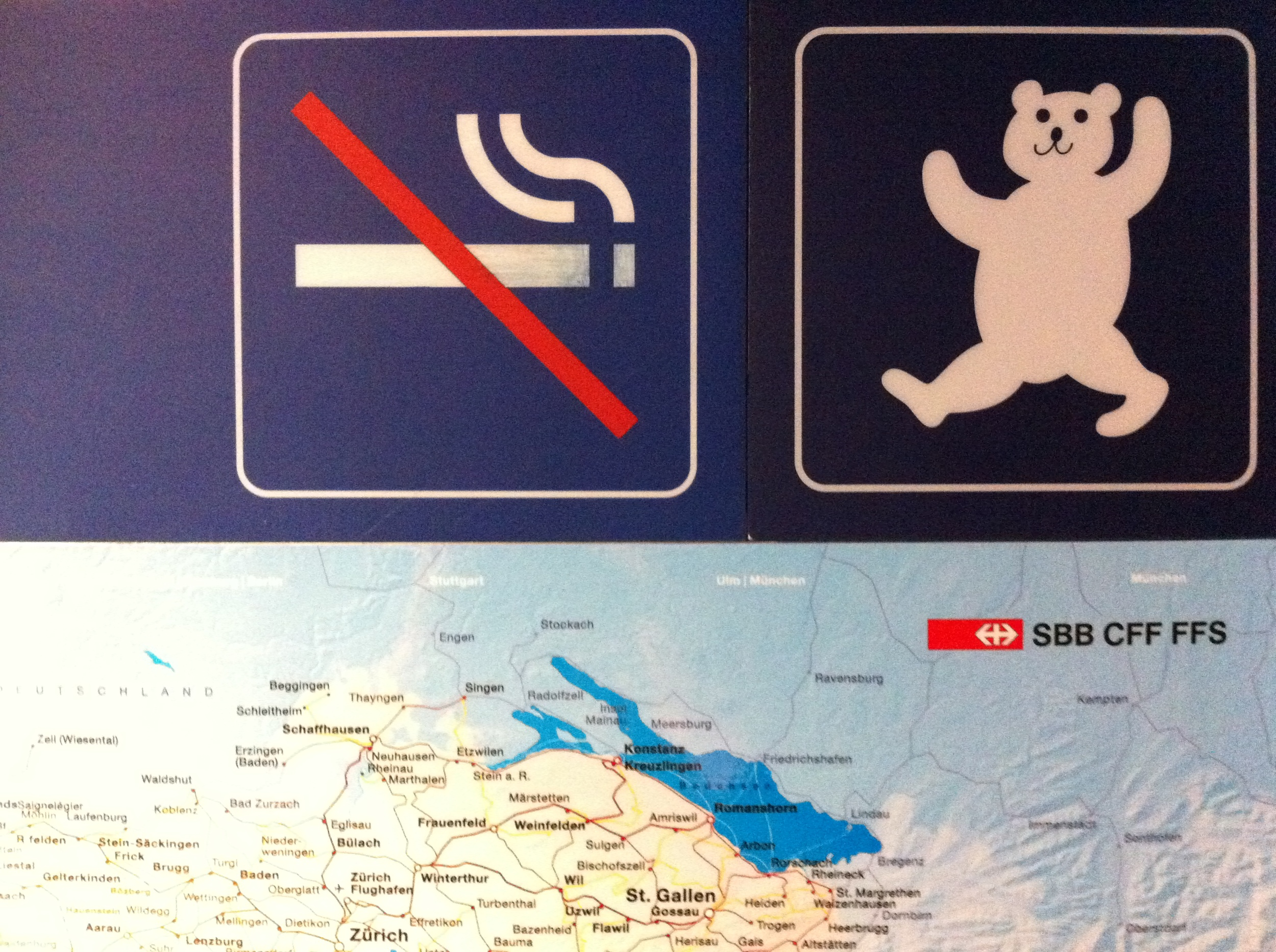 No smoking allowed. Dancing bears  are  permitted.