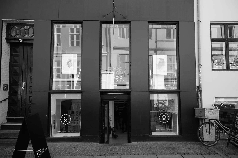 The Paper Collective Design Gallery at Kompagnistræde 29, 1208 København K.