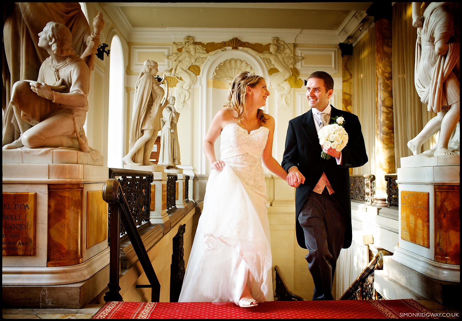 Wedding Photojournalism at Cardiff City Hall