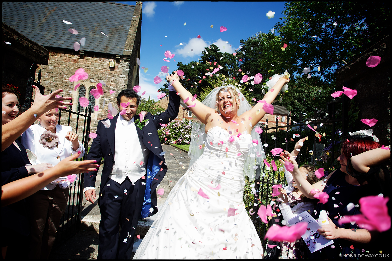 Reportage Wedding Photography in Wales