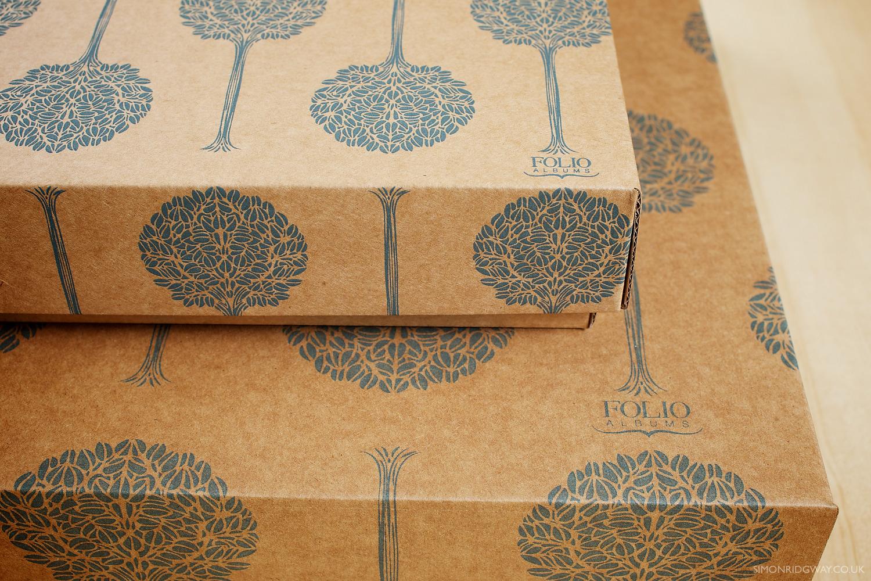 Eco-friendly cardboard presentation box
