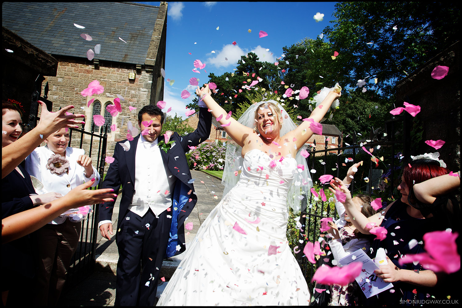 Reportage Wedding Photography, Tongwynlais, South Wales