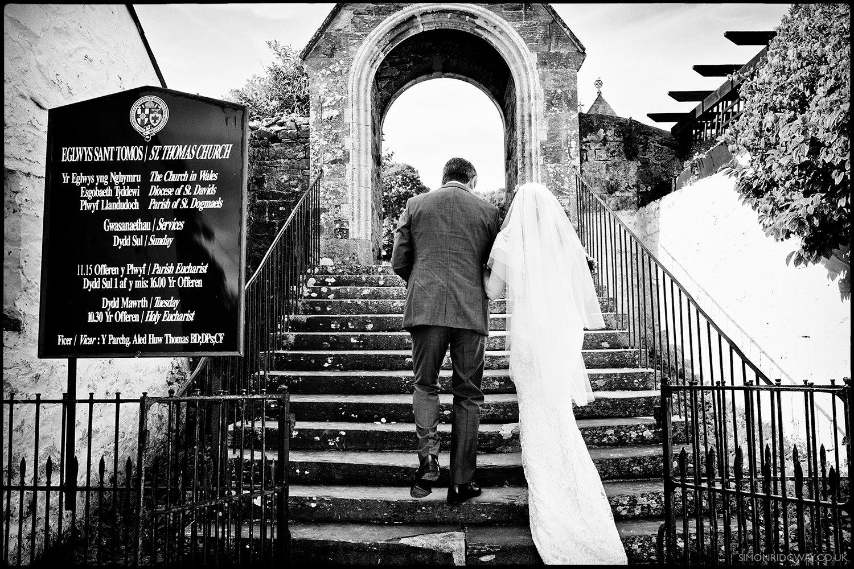 Documentary Wedding Photography, St. Dogmael's, West Wales