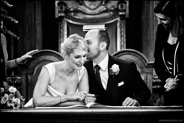 Wedding Photojournalism, Islington Town Hall, London