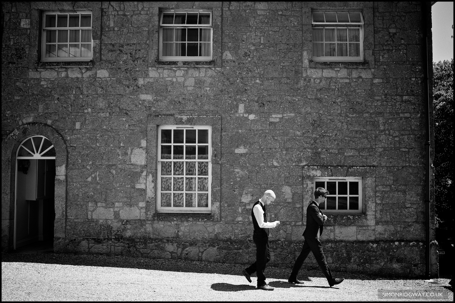 Wedding photography at Appuldurcombe House, Isle of Wight
