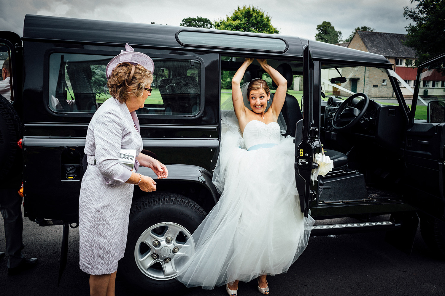 Wedding photography at Christ College, Brecon