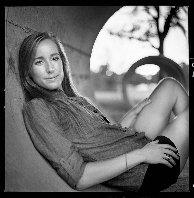 "Meredith. My first true ""scan"" using this technique. In contrast, I thought this was a crap image when I scanned with a rather decent flatbed."