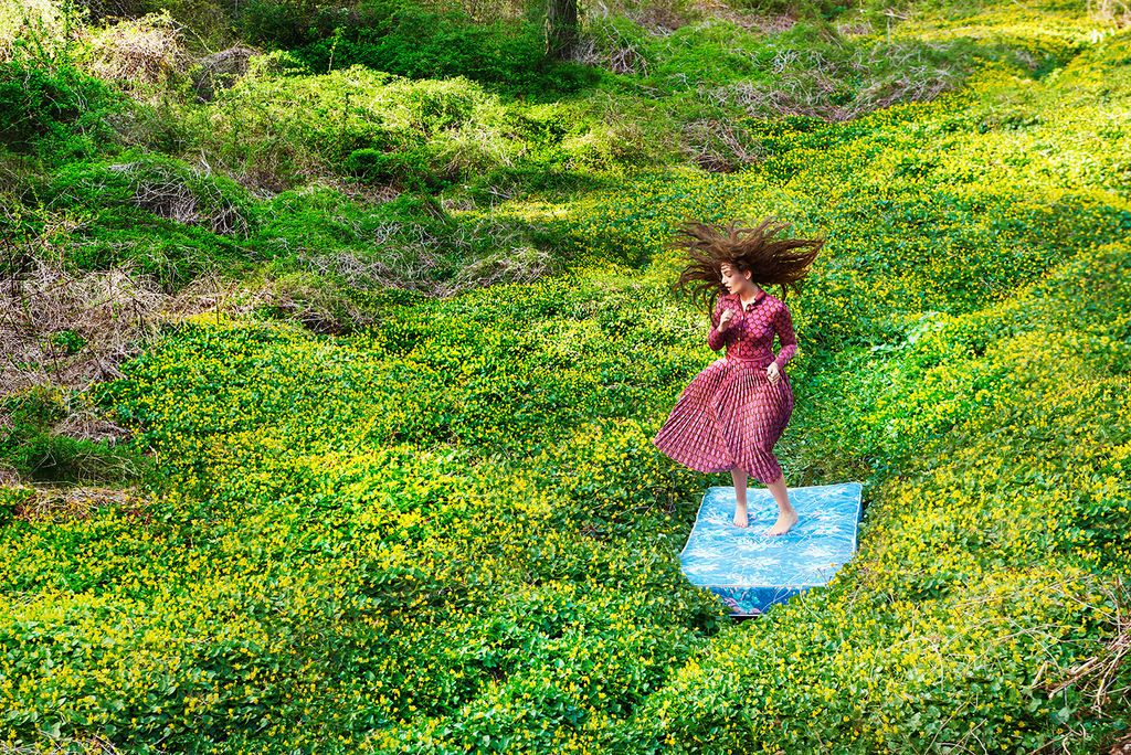 Lorde by Ryan McGinley. Yes, I cringed when I found out he shot this. But I like it.