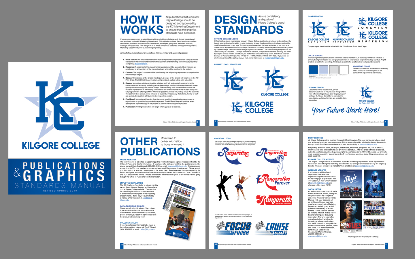 KC Publications+Standards excerpts