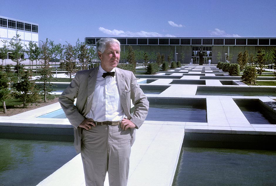 Dan Kiley, Landscape Architect (archive photo) Photo courtesy of Aaron Kiley