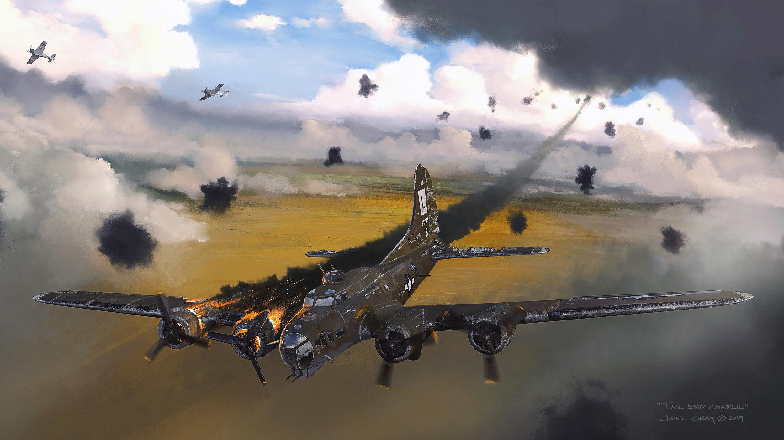 Tail End Charlie, B-17G, 42-31325