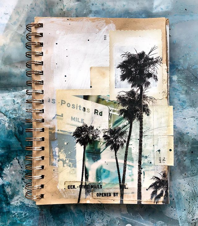 Santa Barbara sketchbook 🌴