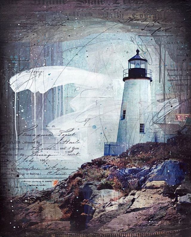 It's National Lighthouse Day! I've painted a few of the lights I've travelled to (Pemaquid Point, Brant Point, Annisquam, Goat Island, Dog Bar) but still have so many more on my list... Any requests? (prints of these in my shop)