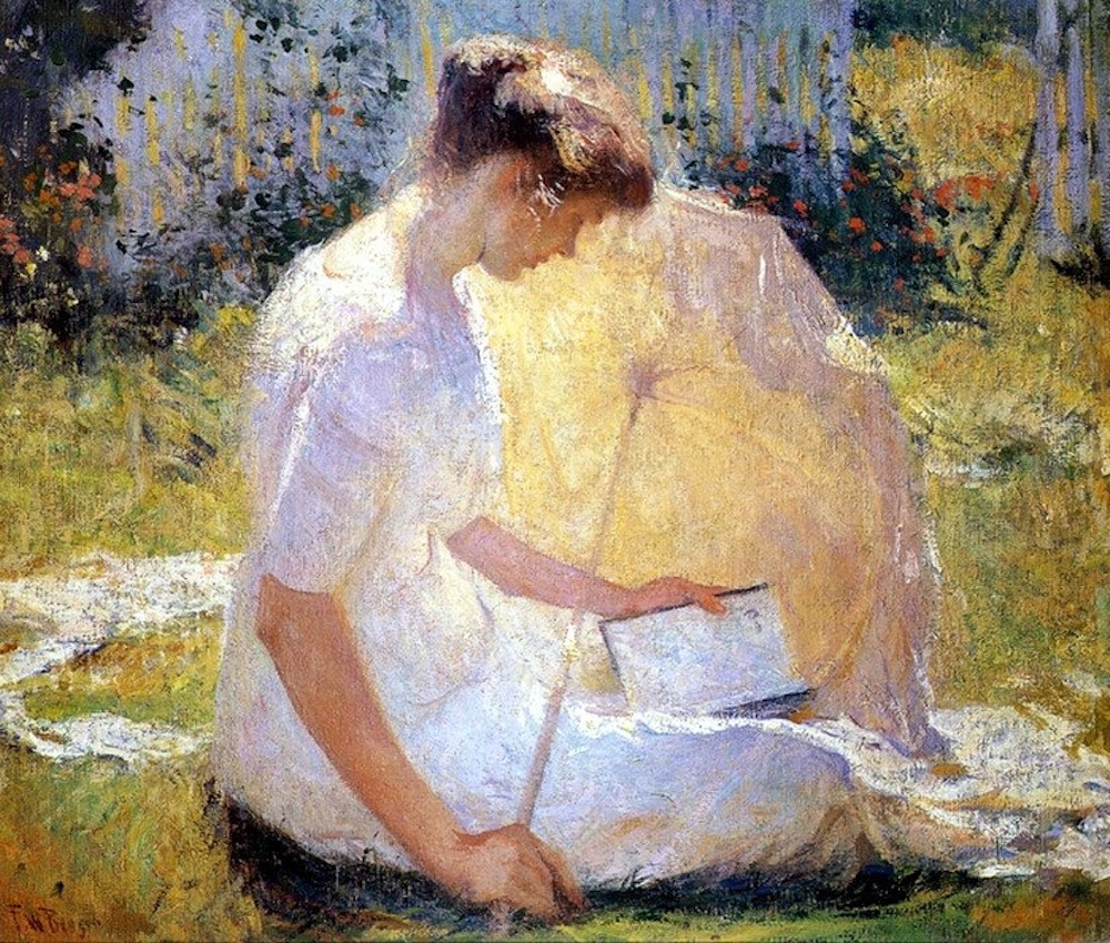 the reader. by frank benson (my 2nd favorite artist. God being my 1st favorite.)