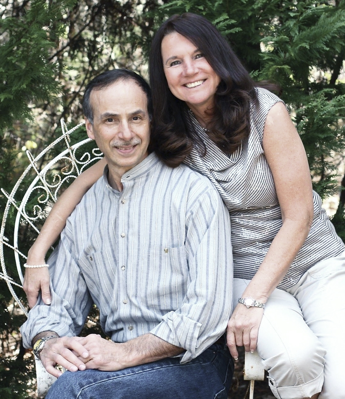 Lance & Anne Lewin - photo by Nadine Lewin Wall 2015