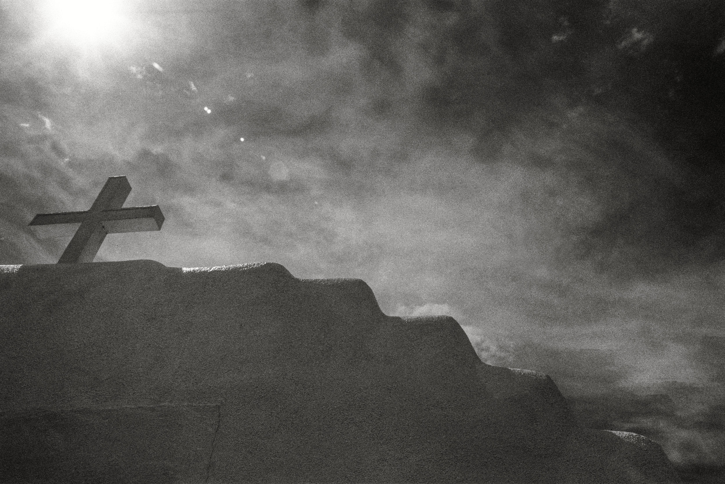 CLICK on Photo: New Mexico 2018 - Pueblo Mission Study Taos Pueblo, New Mexico 2018 (Ultra Max 400 BW Film)
