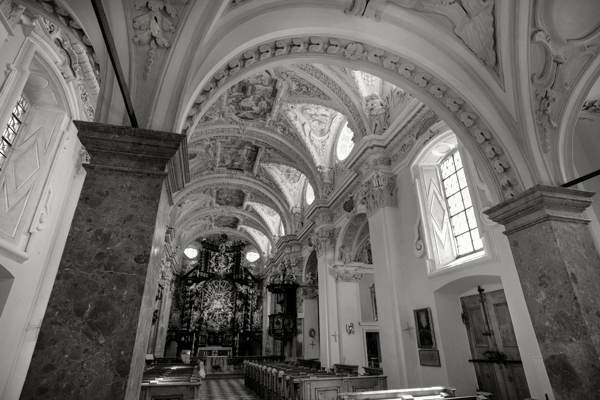 Austrian Churches - Click photo for redirection to Gallery - Church Frauenberg 2017