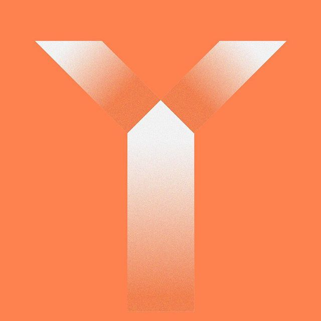 Y. Light through the shapes #36daysoftype #36days_y #36daysoftype05