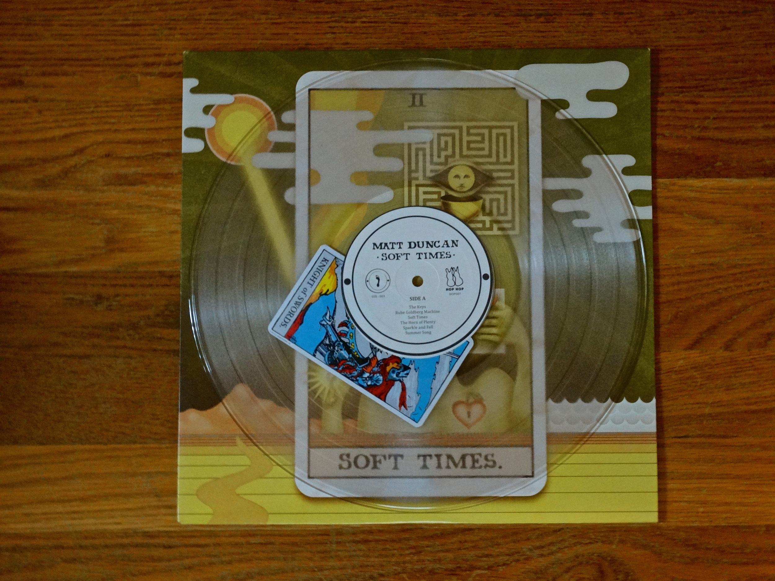 "SSR-003  Matt Duncan - ""Soft Times""  || Fortune Teller Vinyl ||1 of 100 || SOLD OUT!"
