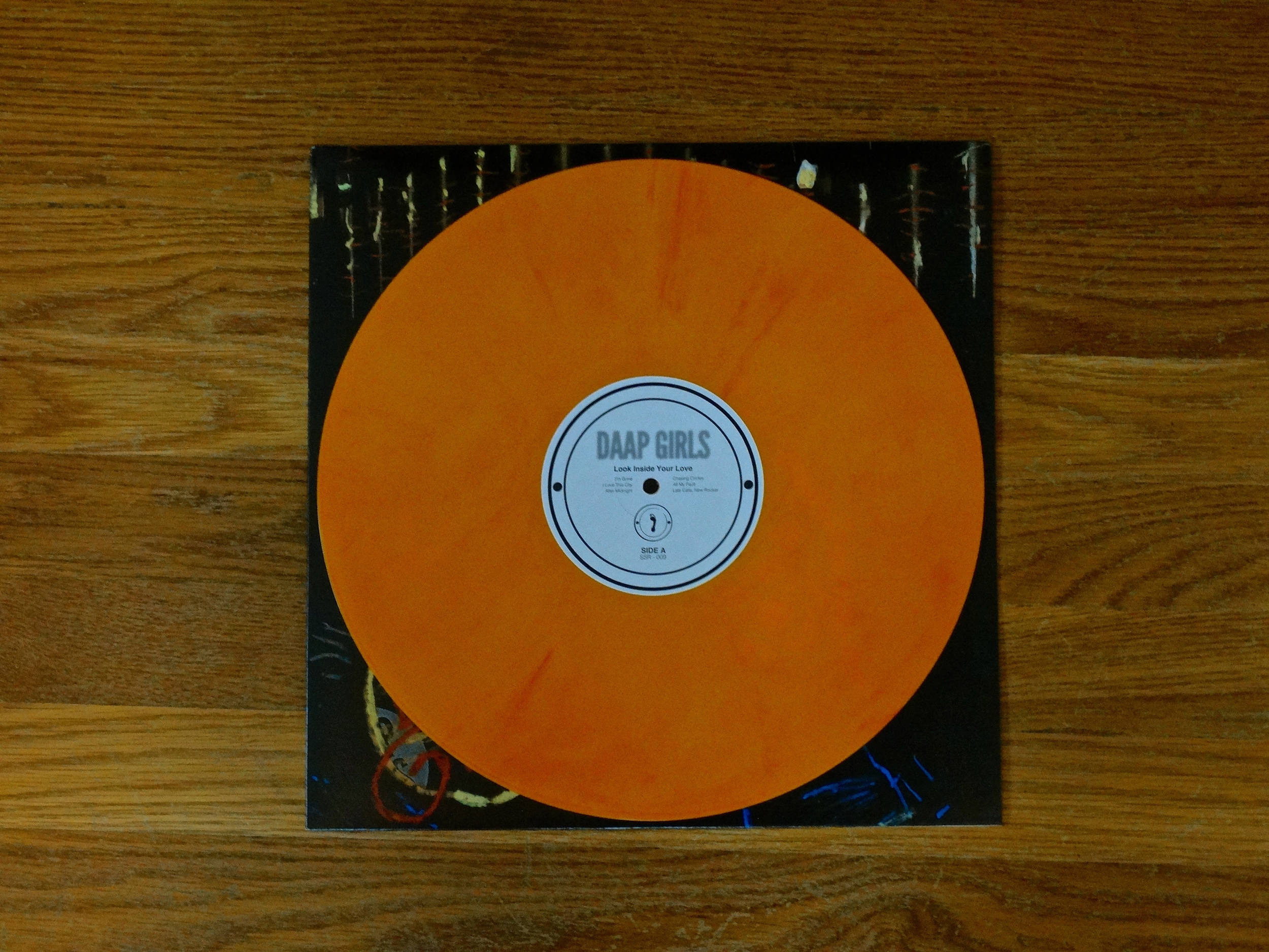 "SSR-008  DAAP Girls  - ""Look Inside Your Love""  