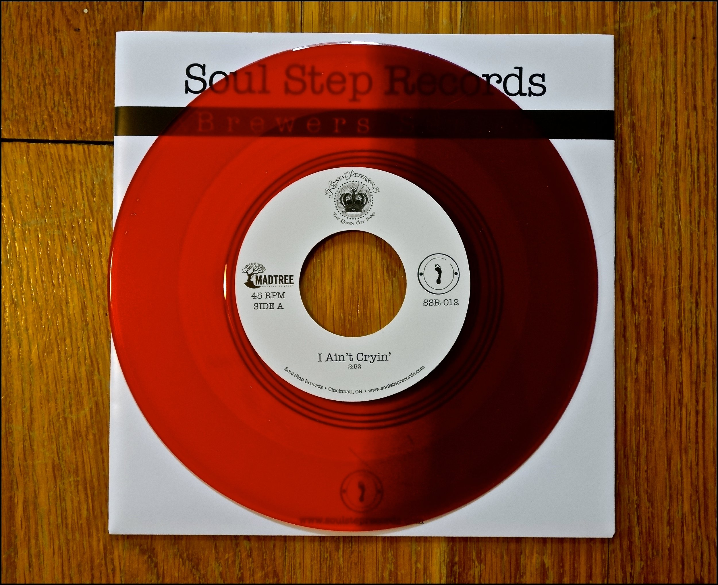 "SSR-012  Krystal Peterson & The QCB - ""I Ain't Cryin""  
