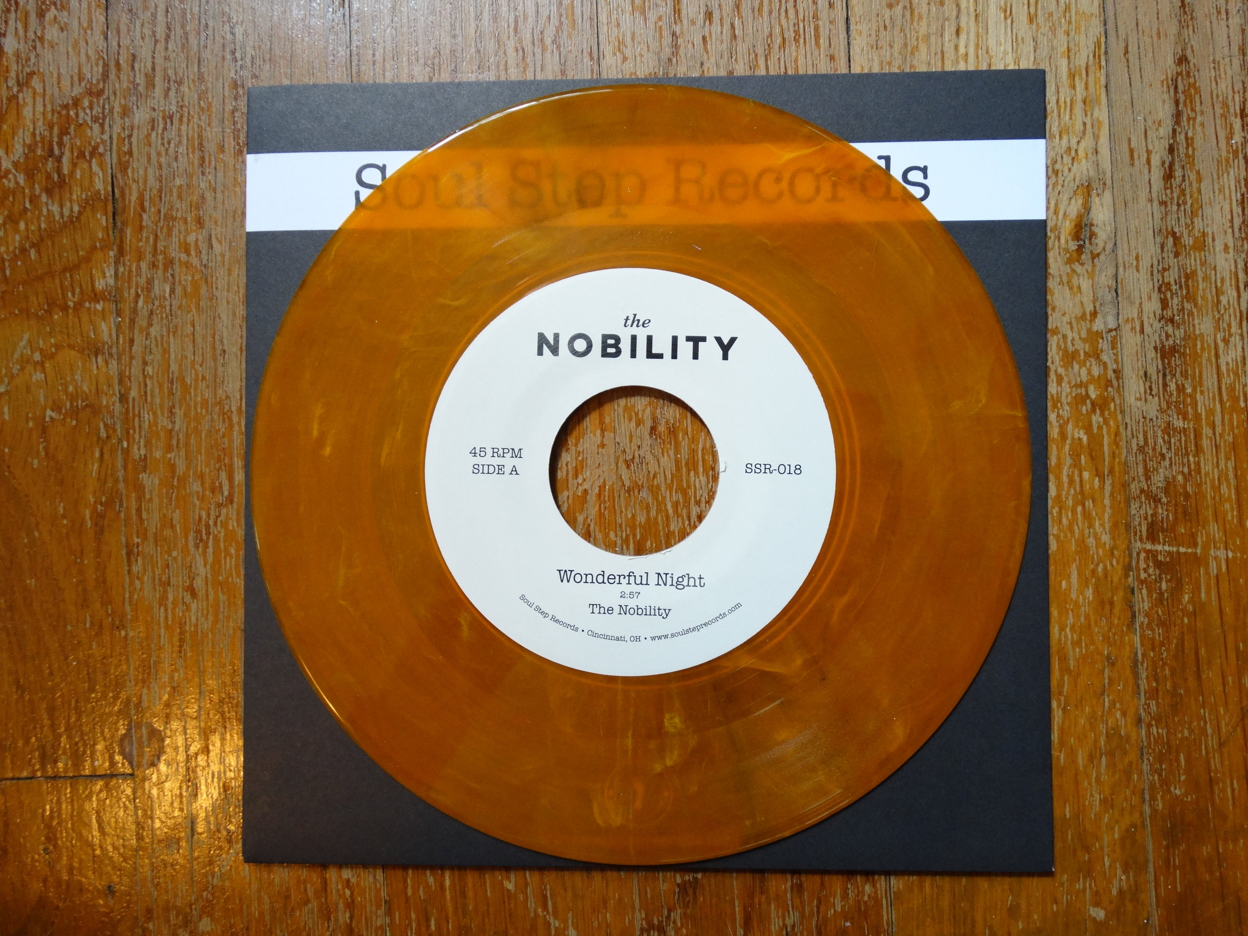 "SSR-018  The Nobility - ""Wonderful Night""  