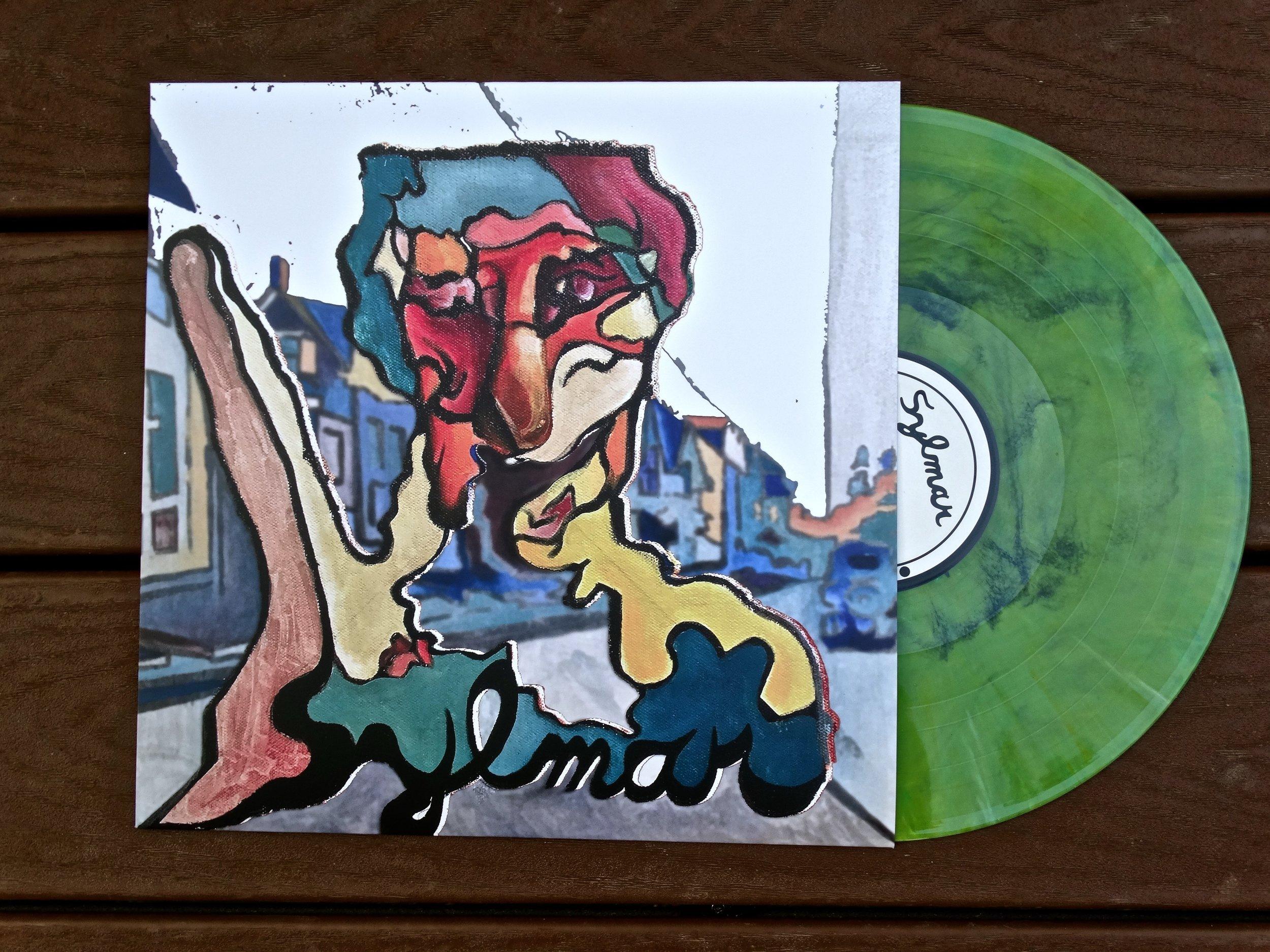 "SSR-024  Sylmar - ""S/T""  || Random Color Vinyl ||1 of 100 || SOLD OUT!"