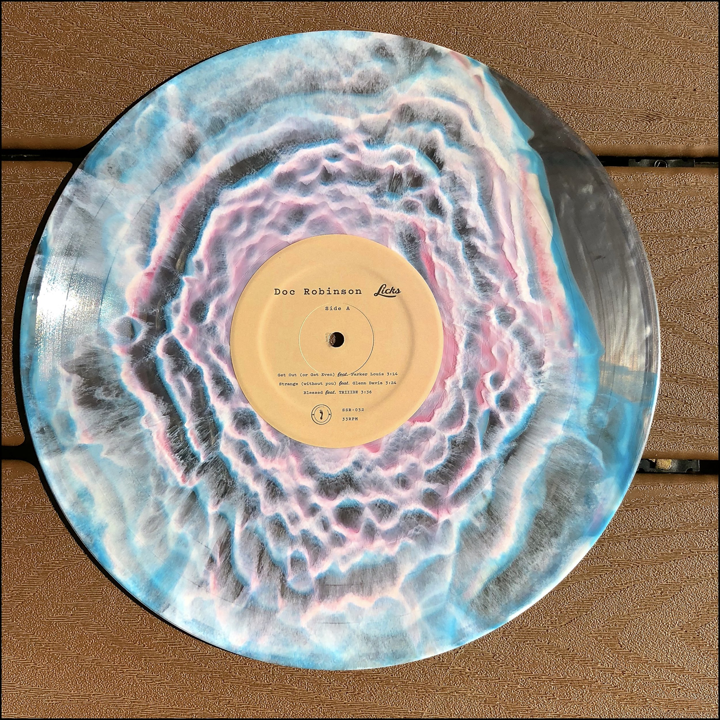 "SSR-032  Doc Robinson - ""Licks, Vol. 1""  