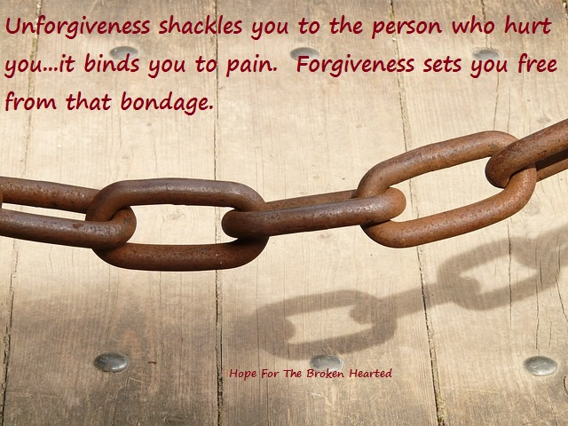 Forgiveness — Hope for the Broken-Hearted