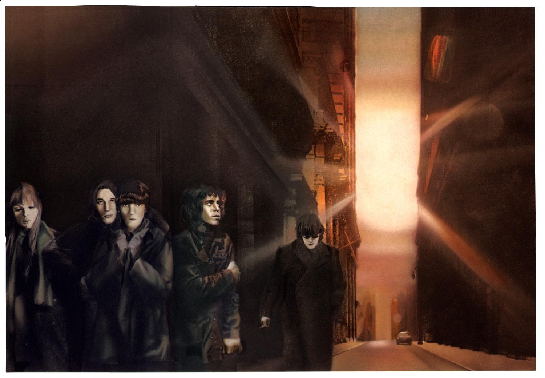 The Velvet Underground  by Guy Peellaert, from  Rock Dreams  (1970-1973).
