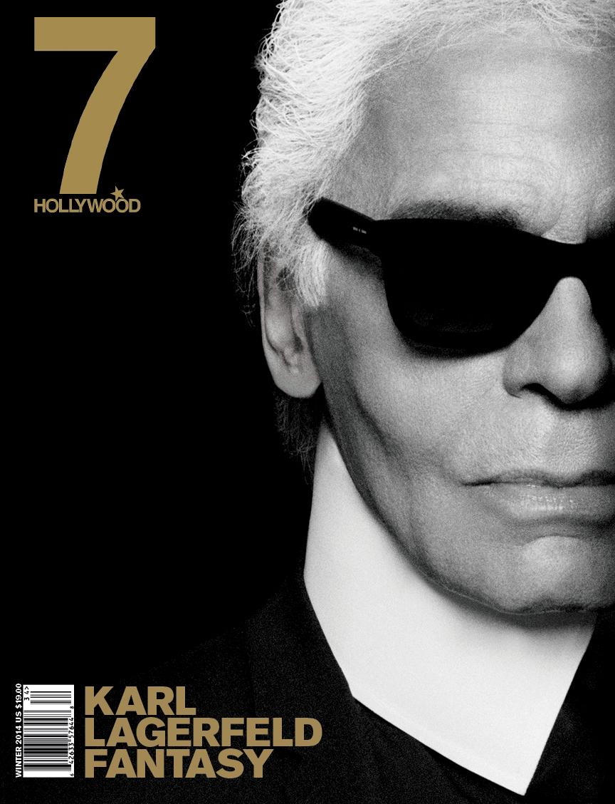 7Hollywood Guy Peellaert Karl Lagerfeld
