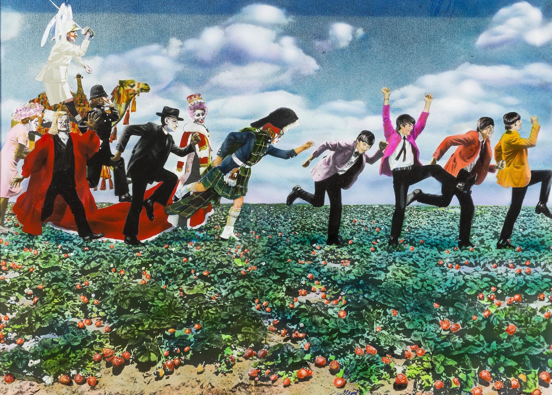 Guy Peellaert's  Strawberry Fields (The Beatles), from  Rock Dreams , 1970-1973.