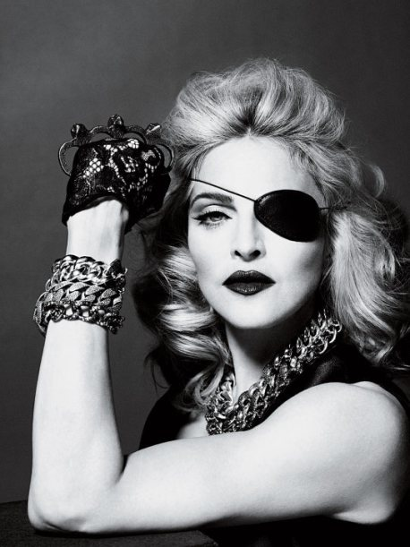 Madonna in 2010